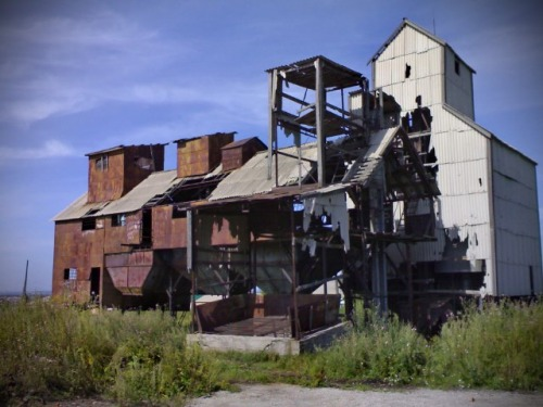 Демонтаж элеваторов, заказчик ГК САХО (Сибирский Аграрный Холдинг)